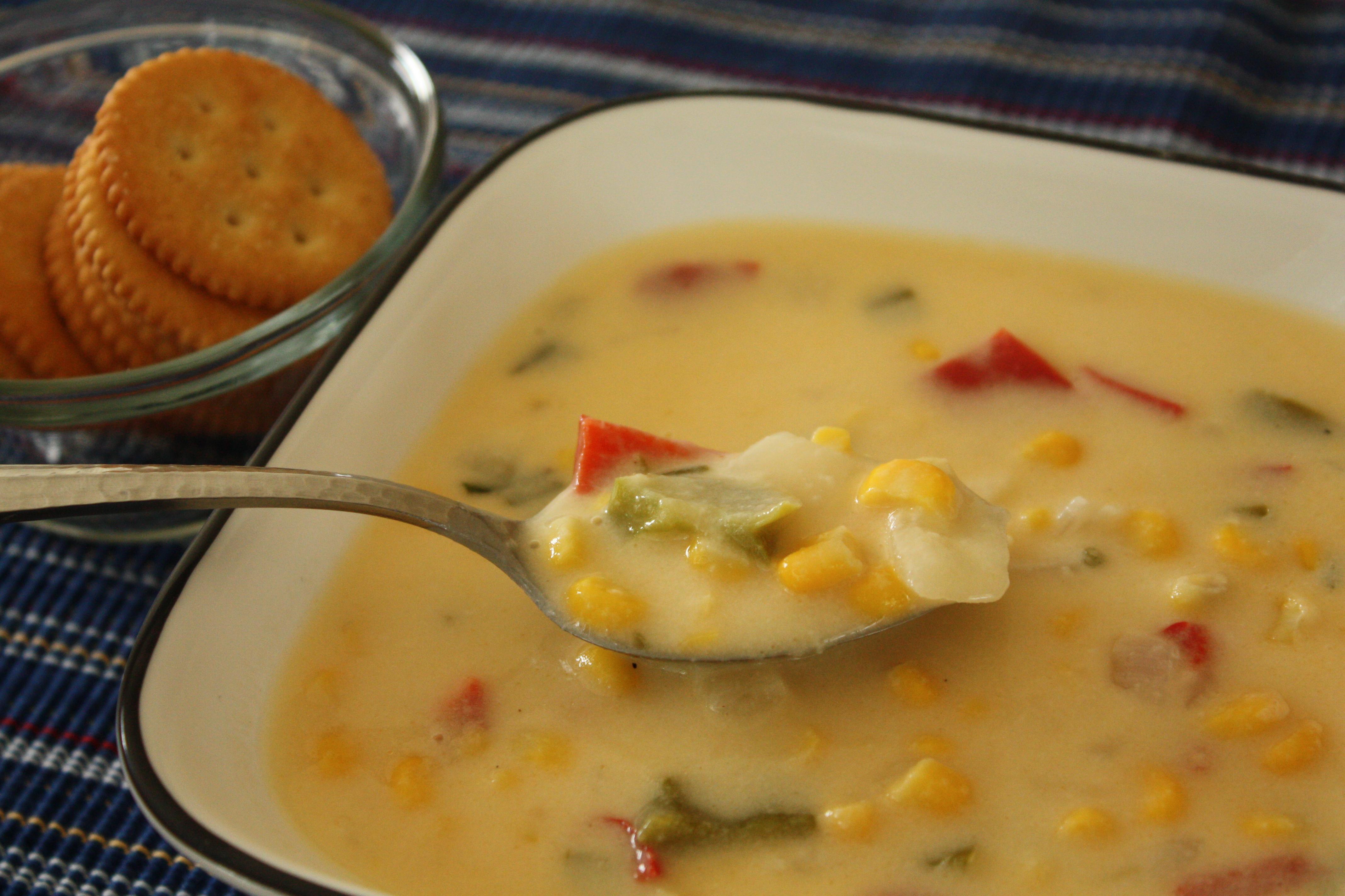 corn and cod chowder healthy corn chowder corn cheese chowder the corn ...