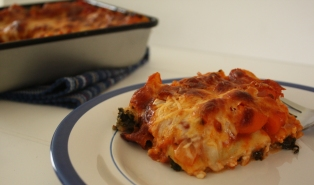 Kale Lasagna ~ Annie's Cooking Lab