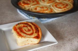Cheddar Swirl Rolls ~ Annie's Cooking Lab