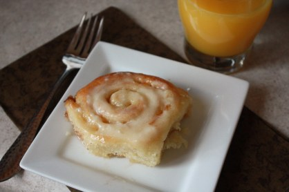 Orange Sweet Rolls ~ Annie's Cooking Lab