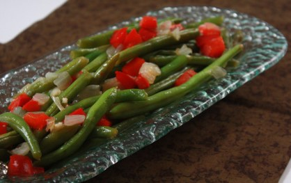 Fresh Green Beans ~ Annie's Cooking Lab