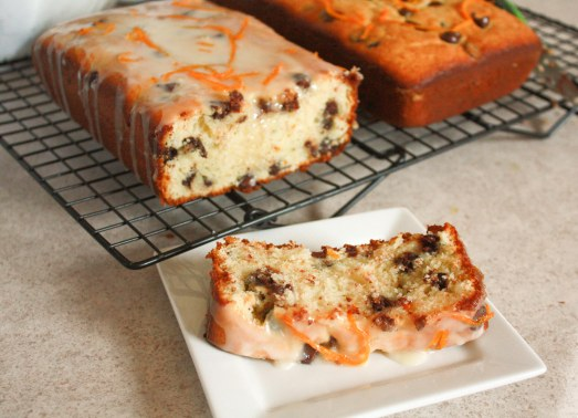 Orange Chocolate Chip Bread ~ Annie's Cooking Lab