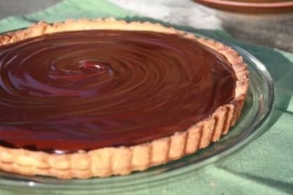 Chocolate Truffle Tart ~ Annie's Cooking Lab