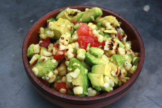 Avocado Corn Salad ~ Annie's Cooking Lab