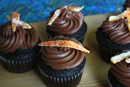 Chocolate Orange Cupcakes ~ Annie's Cooking Lab