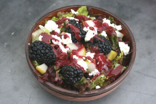 Blackberry Vinaigrette ~ Annie's Cooking Lab