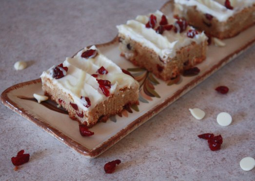 Cranberry Bliss Bars ~ Annie's Cooking Lab
