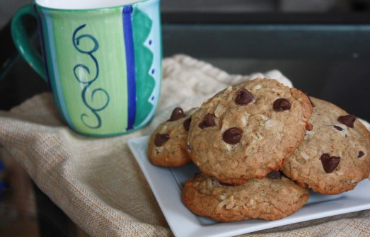 Espresso Dark Chocolate Coconut Cookies ~ Annie's Cooking Lab